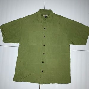 Tommy bahama multi texture button up